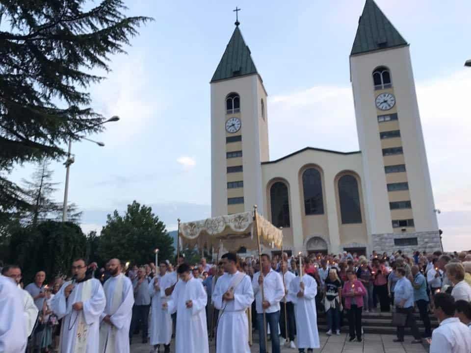 Medjugorje Procession 2017 pilgrimage tour