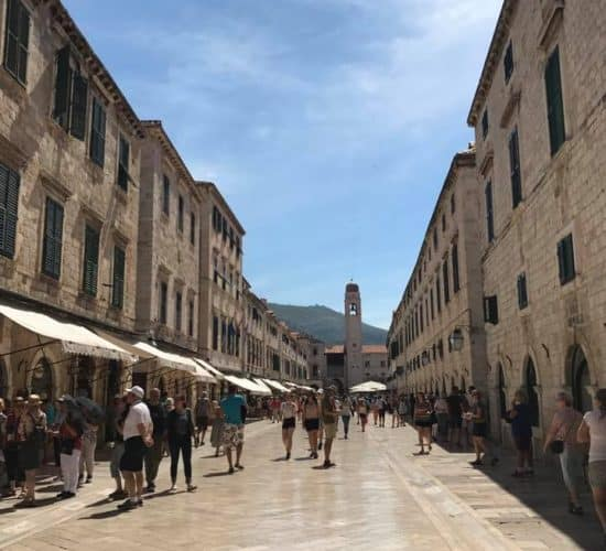 old dubrovnik street