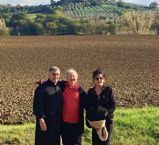 Assisi pilgrims in Italy on tour