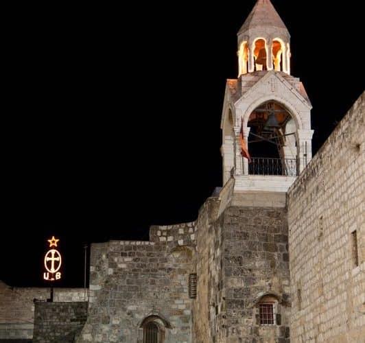 Bethlehem night nativity pilgrimage to Holy Land