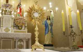 Eucharistic Adoration Miracle