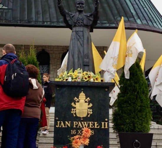 John Paul lI statue Poland