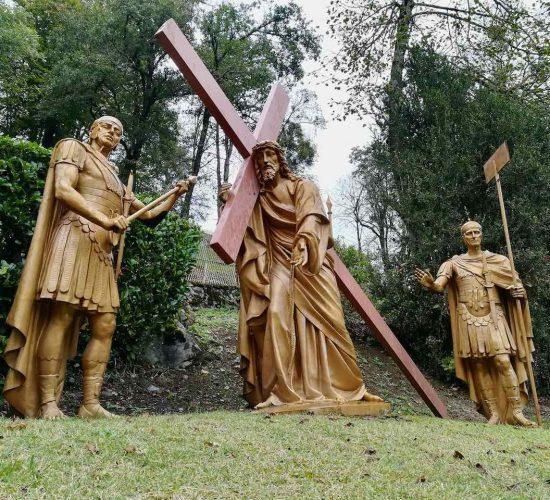 Lourdes way of the cross pilgrimage