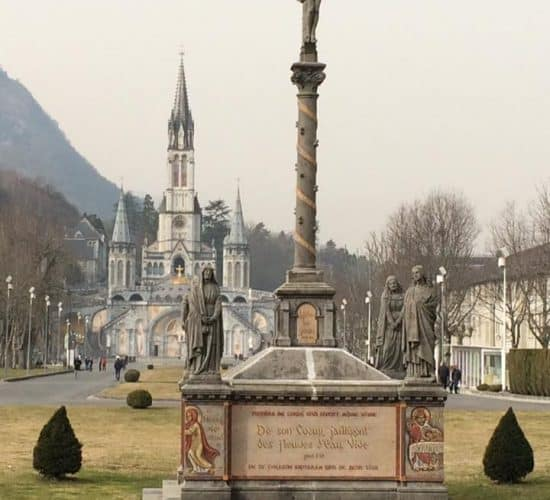 Lourdes winter pilgrimage