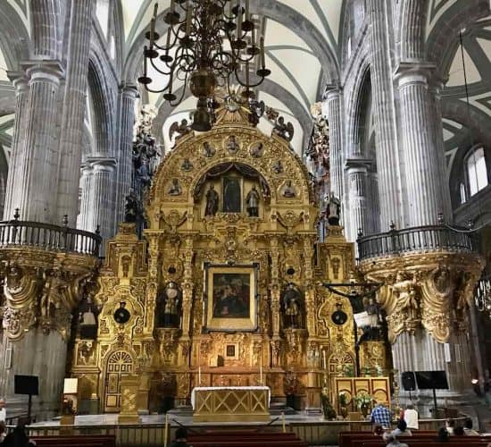 Mexico city cathedral chapel