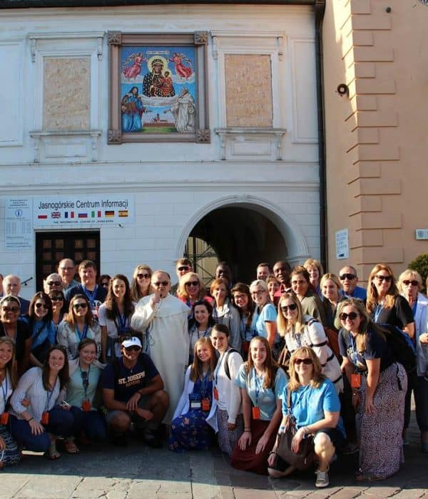 Poland Divine Mercy tour Group