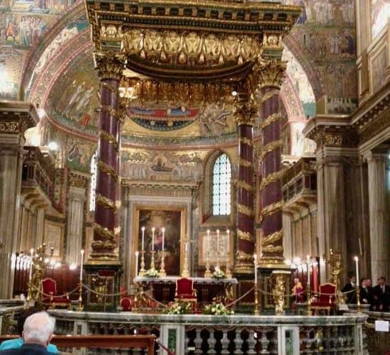 Saint Mary Major basilica Rome pilgrimage