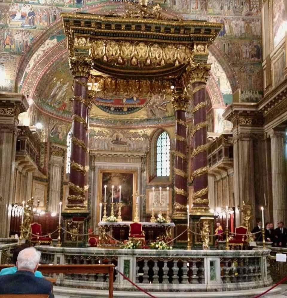 Saint Mary Major basilica Rome pilgrimage