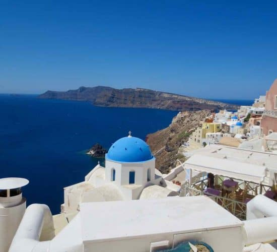 Santorini Greece pilgrimage