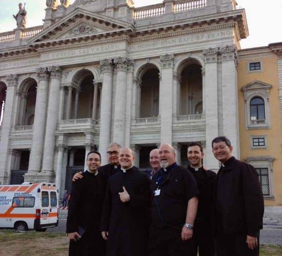 St John Lateran priests Rome pilgrimage