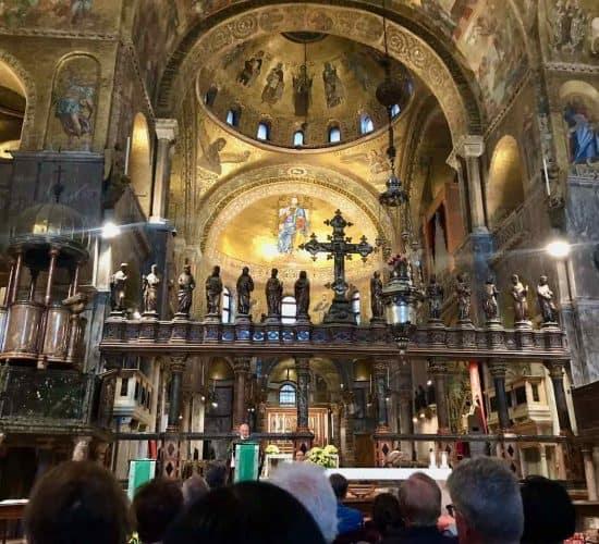 St Mark Basilica mass Venice tour