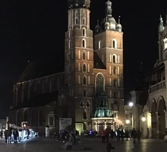 krakow church Poland Pilgrimage