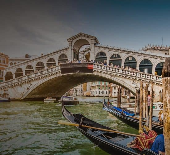 venice bridge on pilgrimage tour